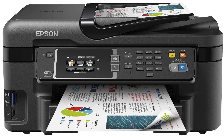 Test Labo de l'Epson WorkForce WF-3620DWF
