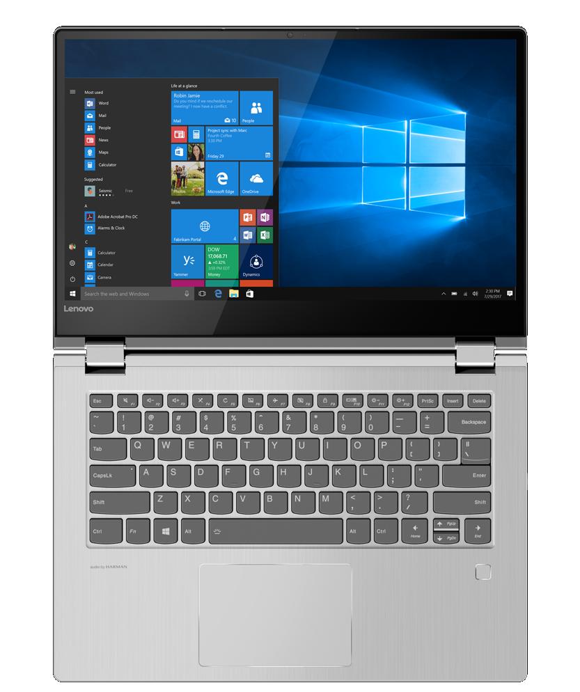 Test Labo du Pack Fnac Lenovo Yoga 530,14IKB 81EK00L  un écran toujours à  la peine
