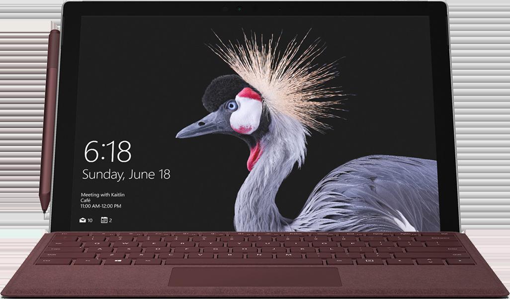 Image MICROSOFT Surface Pro 6 (1,8-8-256) - Labo FNAC