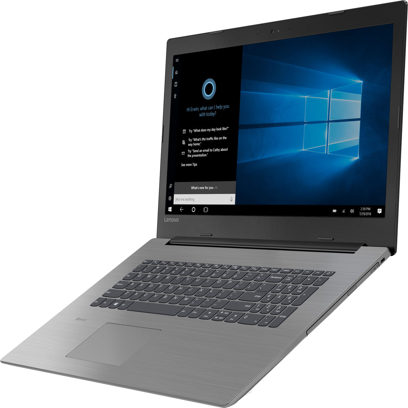 Test Labo du Lenovo IdeaPad 330-17IKB : un écran très perfectible
