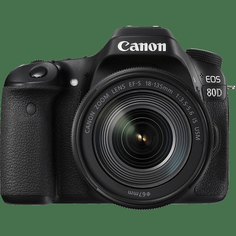 Image CANON EOS 80D EF-S 18-135 mm f:3,5/5,6 STM - Labo FNAC