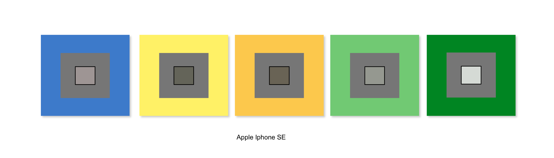 apple iphone se balance blancs