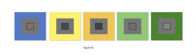 Mire balance des blancs du Fujifilm X-T2