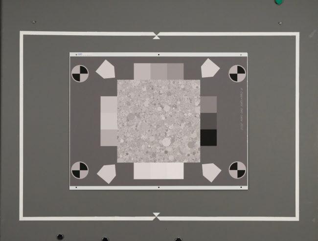 Texture à 6400 ISO du Fujifilm X-T2