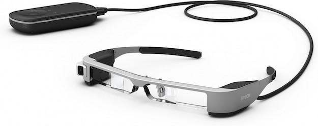 bandeau DJI s'associe à Epson pour des lunettes de réalité augmentée