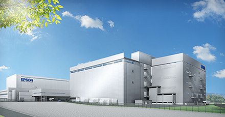 Future usine Epson au Japon