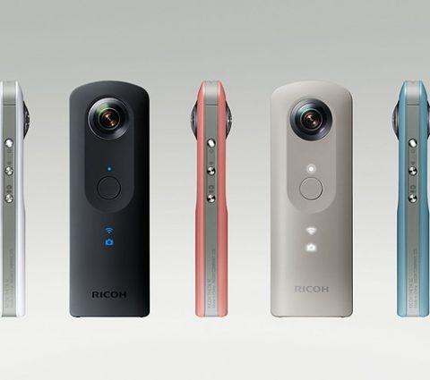 Ricoh présente le Theta SC, sa caméra 360 abordable