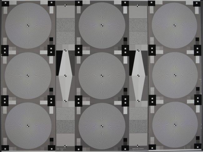 Test de résolution grand angle Panasonic GH4