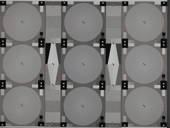 Test de résolution télé-objectif Panasonic GH4