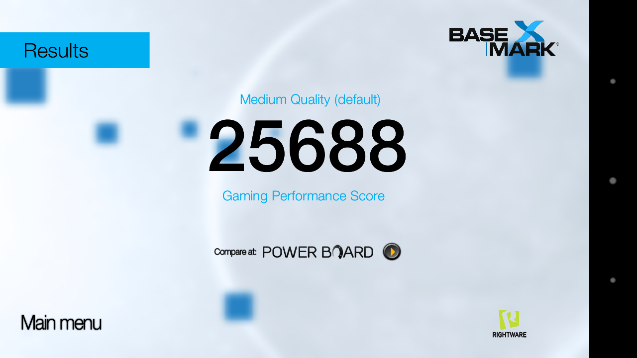 basemark sony xperia x compact