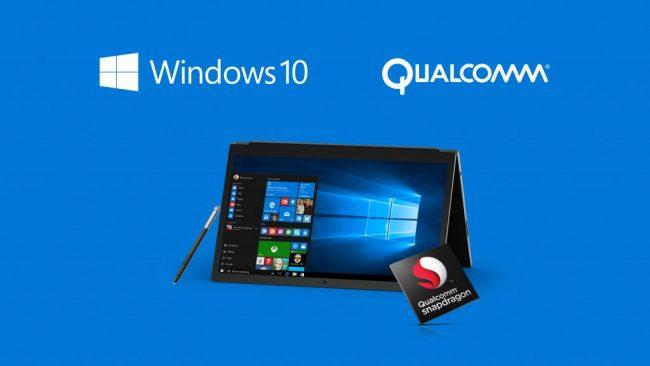 Windows 10 avec puces ARM