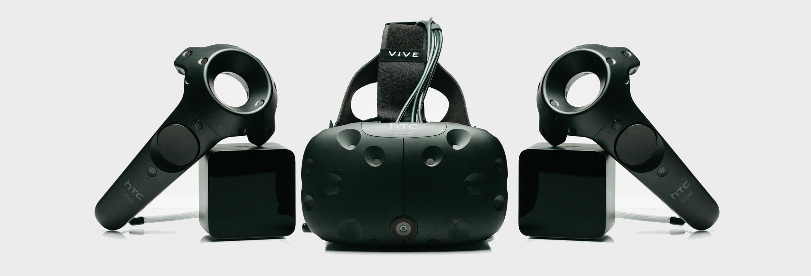 bandeau HTC crée son propre studio d'édition de jeux et contenus VR pour le Vive