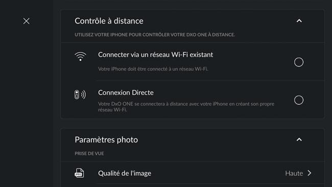 App DxO One