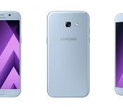 Samsung dévoile les Galaxy A3, A5, et A7 version 2017