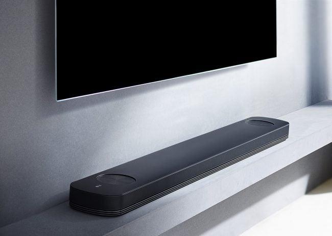 La LG SoundBar SJ9