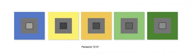 Balance des blancs Panasonic Lumix DMC-TZ57