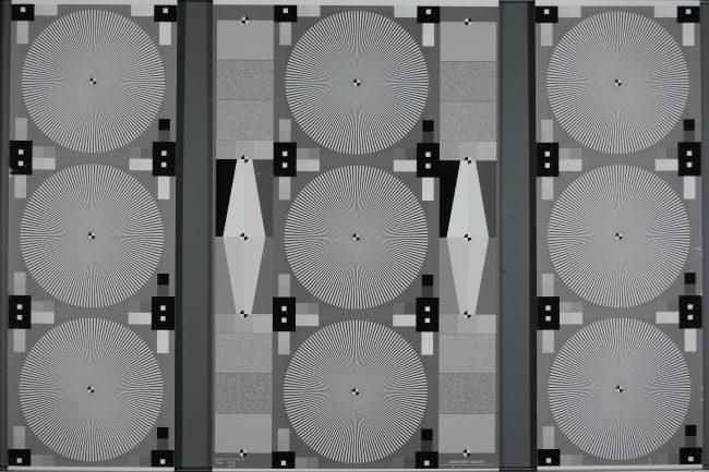 Test de résolution grand angle