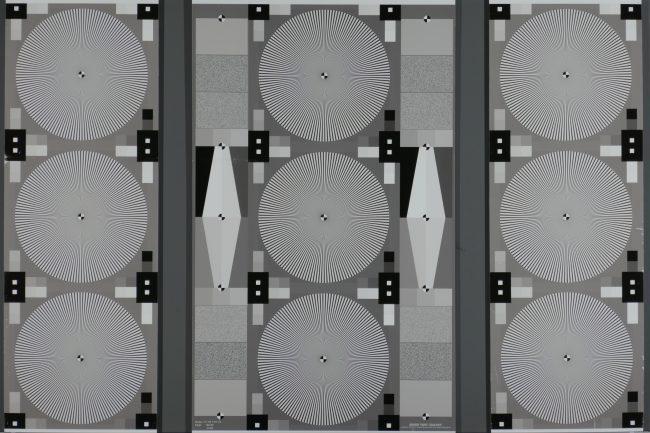 Test de résolution téléobjectif