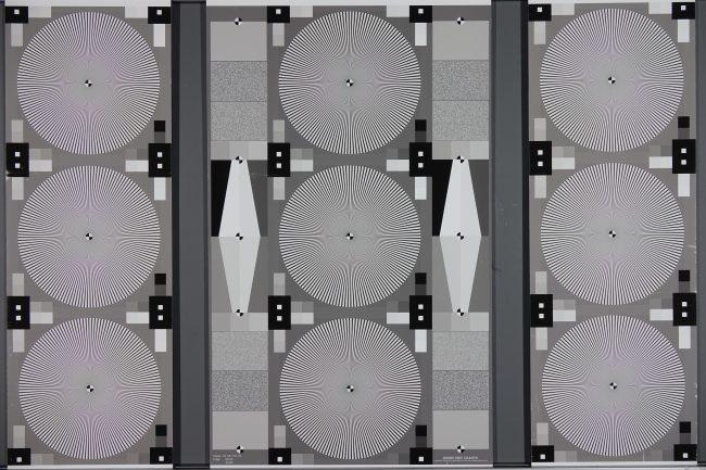 Mire de résolution du RX10 III (grand-angle)