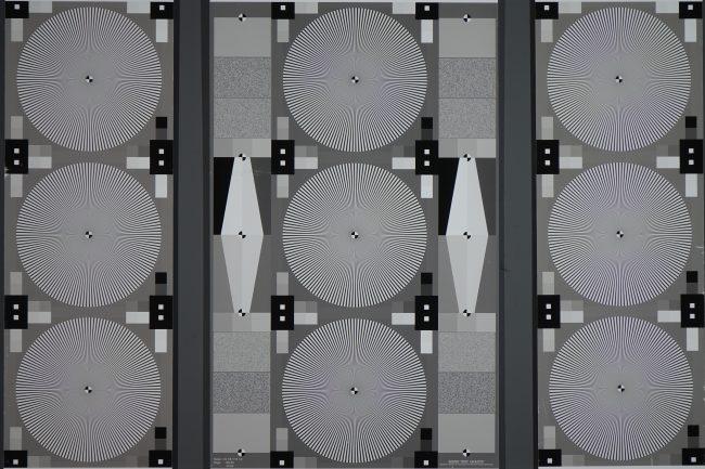 Mire de résolution du RX10 III (téléobjectif)