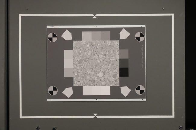 Mire de texture du RX10 III
