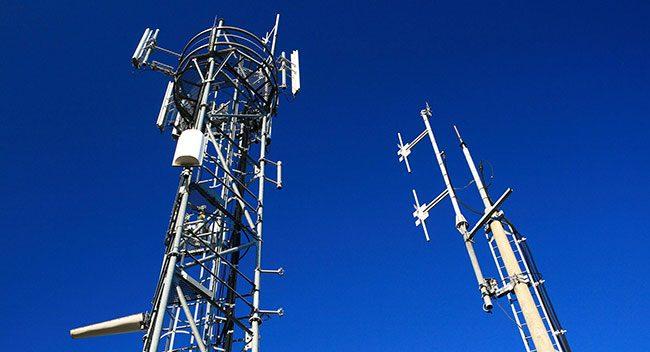 Antenne réseau mobile
