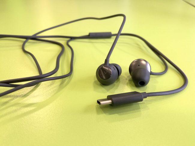 Ecouteurs HTC U USB Type-C
