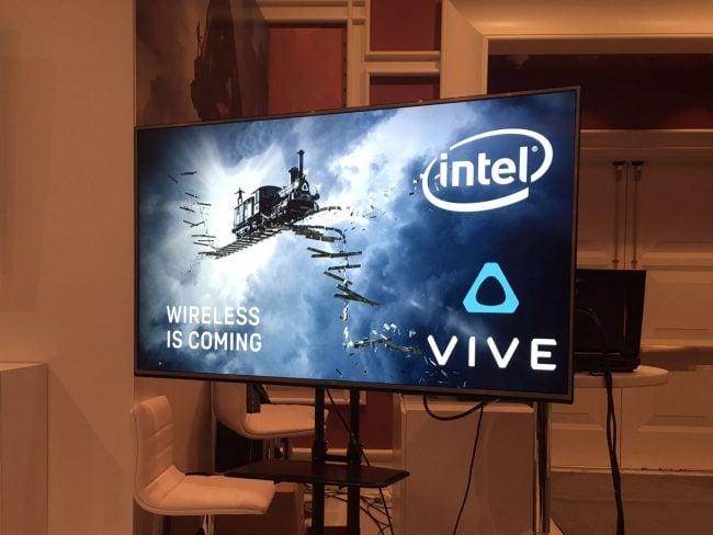 HTC Vive sans fil avec Intel