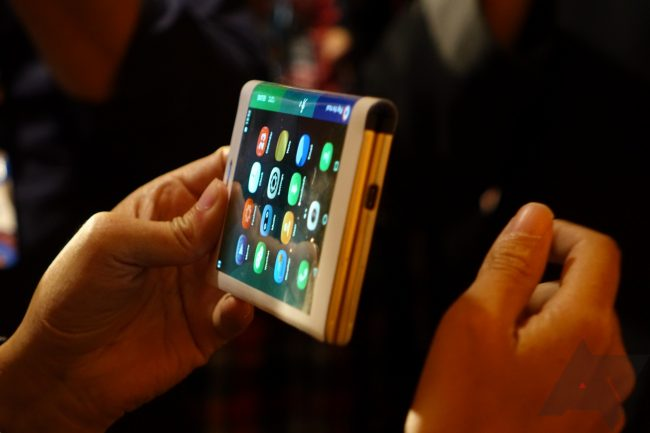 Un prototype signé LenovoCrédit photo : Android Police