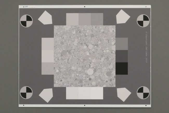 Panasonic Lumix LX15 : texture à 1600 ISO