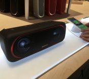 CES 2017 : Sony SRS-XB40, XB30, XB20 et XB10, des enceintes «pour faire la fête»