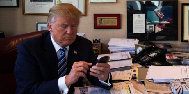 trump smartphone