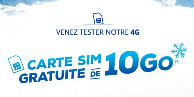 Essai 4G Bouygues Telecom
