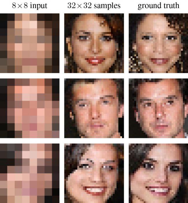 Google Brain : reconstitution d'images