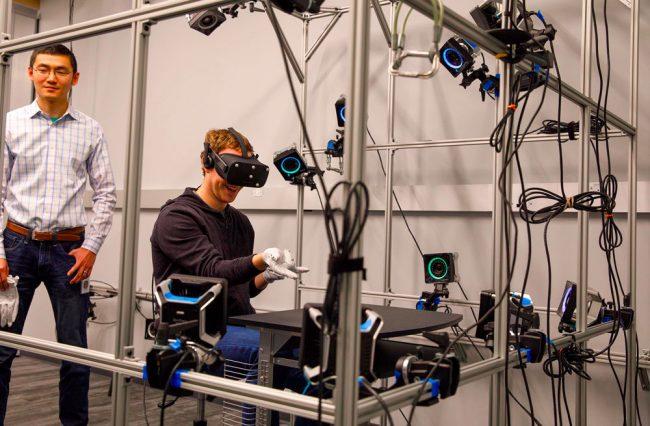 Gants Oculus Rift