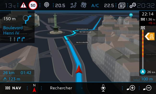TomTom Peugeot Genève 2017