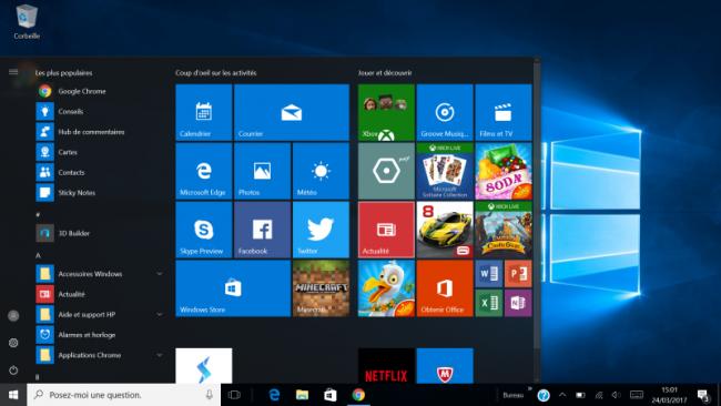 HP Spectre x360 (G2) : Windows 10