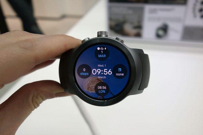 La LG Watch Sport