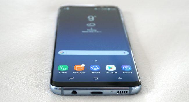 prise en main et présentation des samsung galaxy S8 et Galaxy S8+
