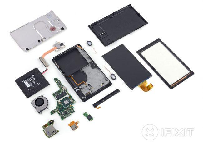 Composants Nintendo Switch