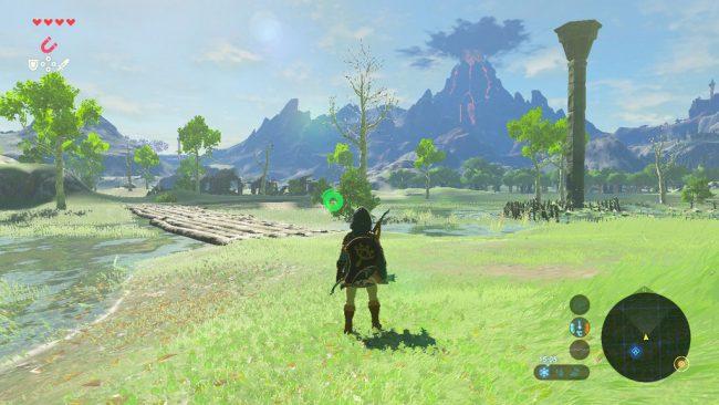 Capture d'écran de The Legend of Zelda: Breath of the Wild