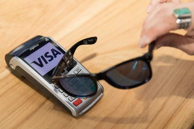 Prototype de lunettes Visa