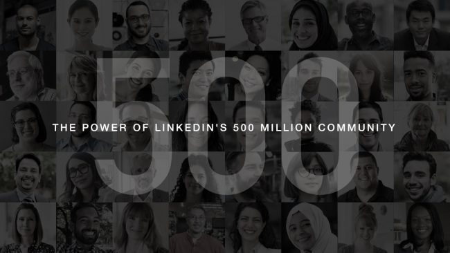 500 millions linkedin
