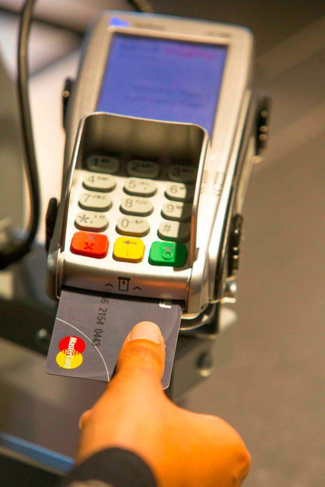 Carte biométrique Mastercard