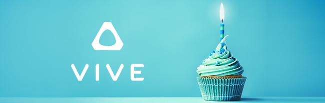 Anniversaire HTC Vive