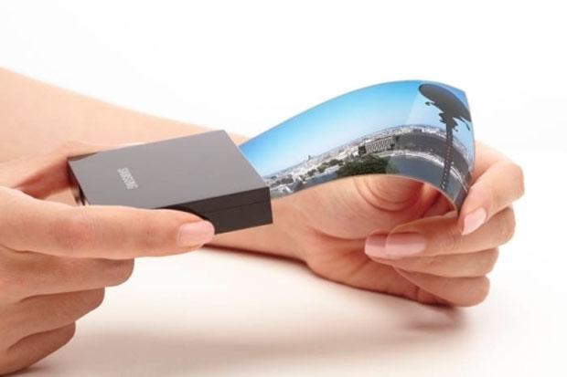 Samsung écrans flexibles