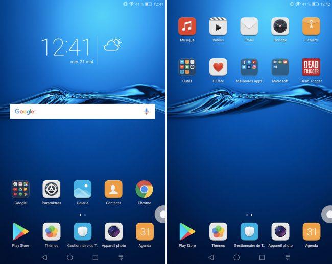 Huawei MediaPad M3 Interface
