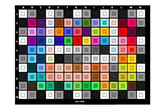 colorimetrie nikon d5600