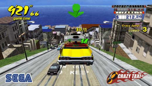 Crazy Taxi sur iOS