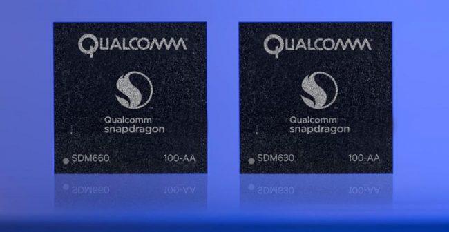 Qualcomm Snapdragon 660 et 630